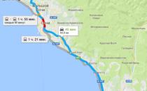 Как добраться из аэропорта Сочи (Адлер) до Дагомыса и обратно