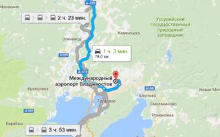 Как добраться из Уссурийска до аэропорта Кневичи и обратно