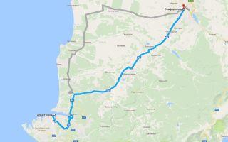 Как добраться из аэропорта Симферополя до Севастополя и обратно