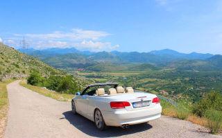 Что посмотреть в Черногории самостоятельно на машине?